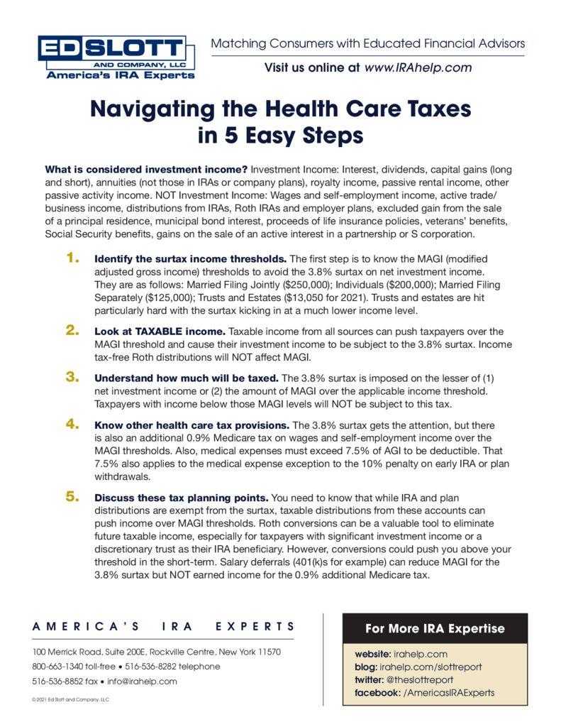 Navigating Healthcare Taxes